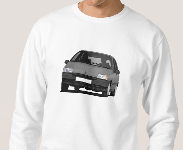 Zazzle Renault Clio printed t-shirt