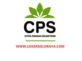Lowongan Kerja Solo, Jogja & Semarang Terbaru di CV. Citra Pangan Sejahtera