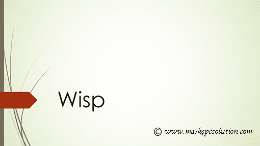 Wisp PowerPoint 2013 Theme