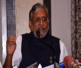 सुशील मोदी का ओवैसी पर हमला, बोले- हैदराबाद में BJP की जीत हिंदुस्तान के नाम से गुरेज करने वालों को तमाचा