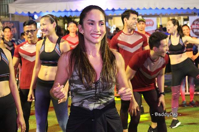 Ina Raymundo, Superbods Ageless at the Electric Spinning Party
