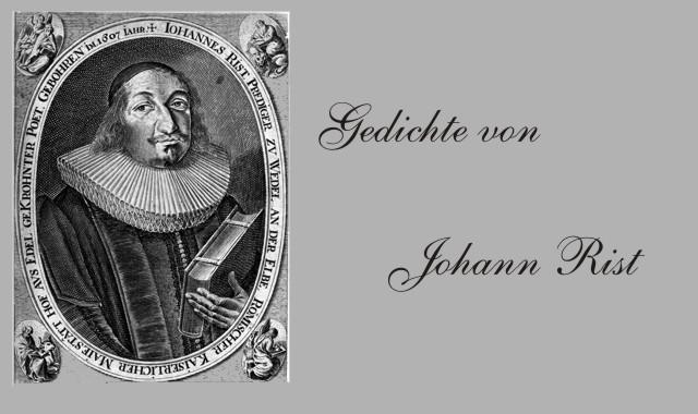Gedichte Und Zitate Fur Alle Gedichte Von Johann Rist Die