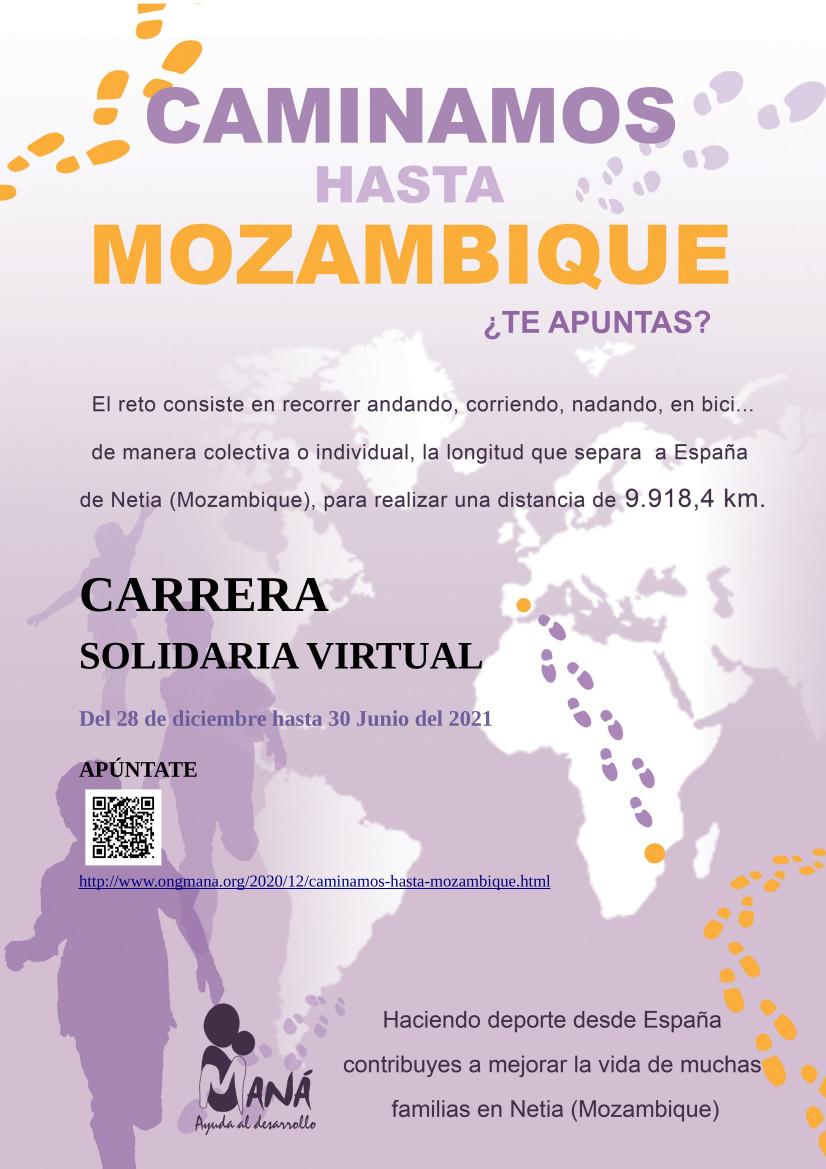 Caminamos hasta Mozambique