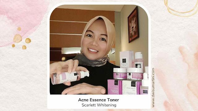Pemakaian Acne Essence Toner