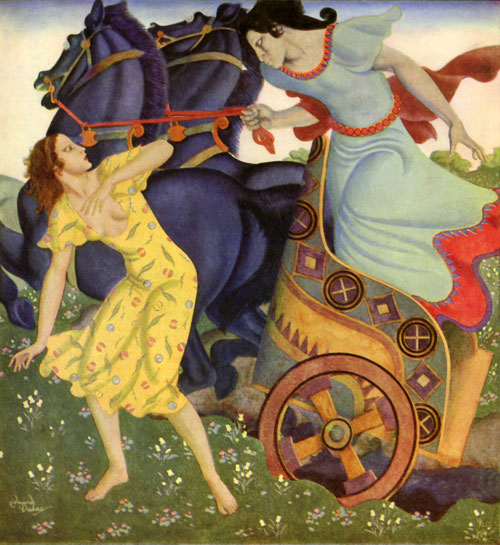 Visions of Whimsy: The Abduction of Persephone