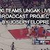 NBA 2K21 30 Teams  Ungak Live Broadcast Project Joseph Elopre