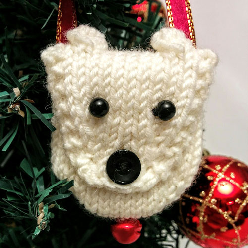 Polar Bear Pouch - Free Pattern
