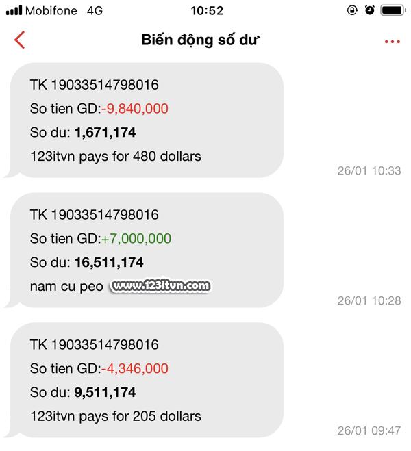 Dịch vụ mua dollar paypal
