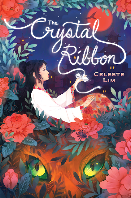Beautiful 2017 Book Cover Designs The Crystal Ribbon Illustration Celeste Lim
