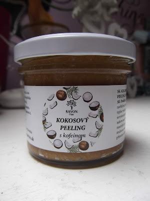 Savon Kokosový peeling s kofeínom
