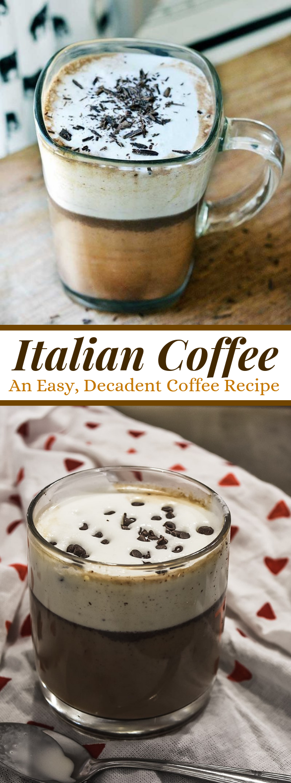 Italian Coffee Recipe (also known as Bicerin) #drinks #coffeedrink
