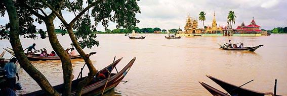 Pagoda in Irrawaddy Delta