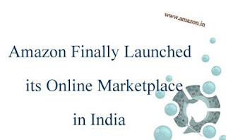 The US based Amazon finally announced the mega launch of its own online marketplace in India.