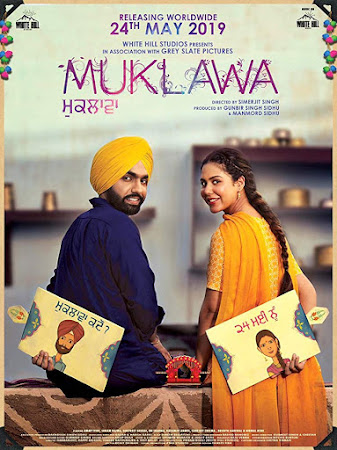 Poster Of Punjabi Movie Muklawa 2019 Full HD Movie Free Download 720P Watch Online