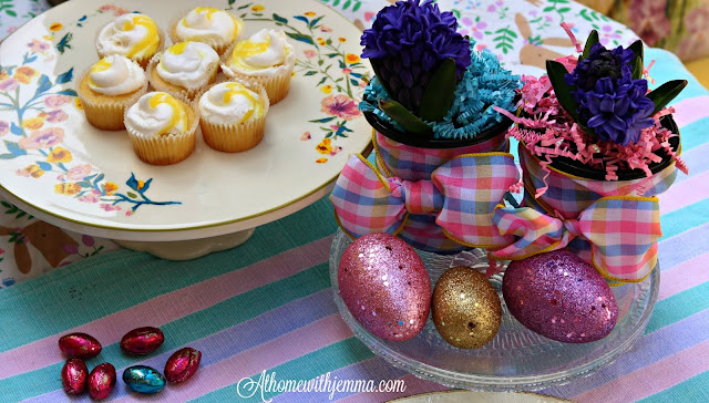 Easter, outdoors, picnic, pastel, tablescape, athomewithjemma.com