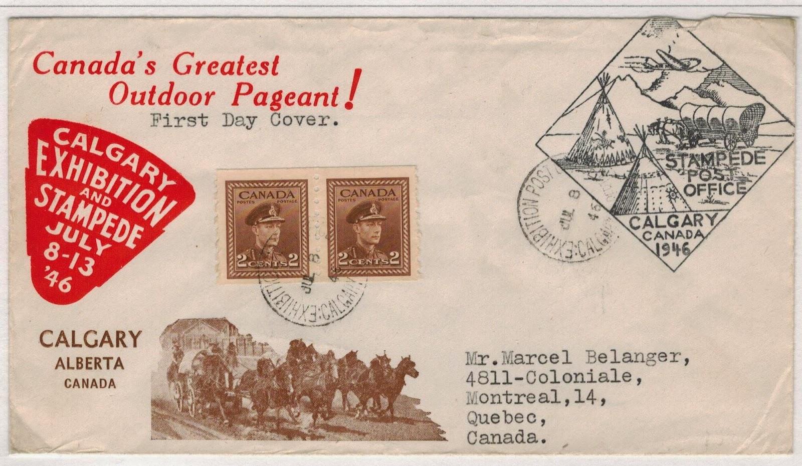 Postal History Corner Millennium 11 Calgary Stampede