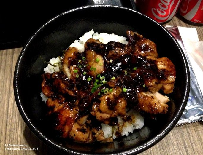Chicken Black Pepper Don at Mitsuyado Sei-Men