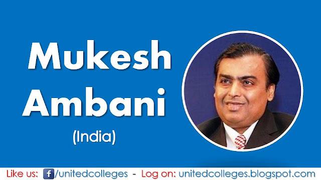 Mukesh Ambani (India)