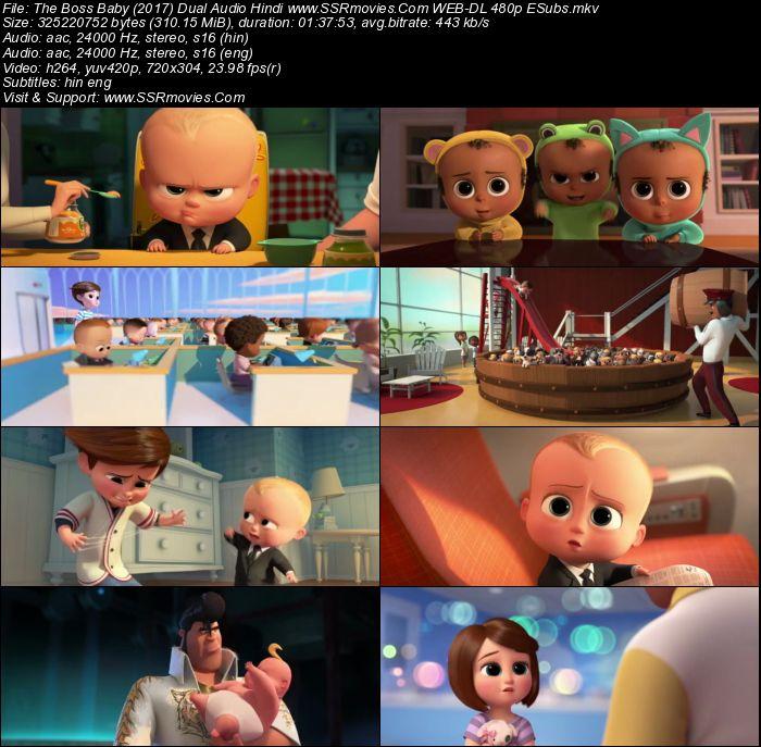 Boss Baby 2 Full Movie In Hindi Download 480p