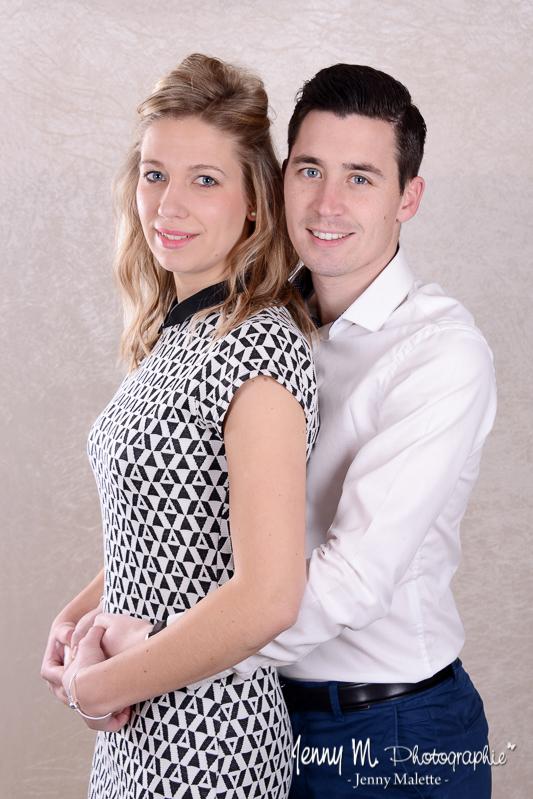 Photographe couple portrait studio Aizenay, Les Sables d'olonne, La Tranche sur Mer