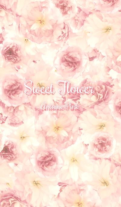 Sweet Flower - Antique Pink -