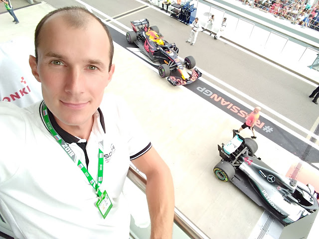 Андрей Думчев, Red Bull, Mercedes, Russian Grand Prix 2018