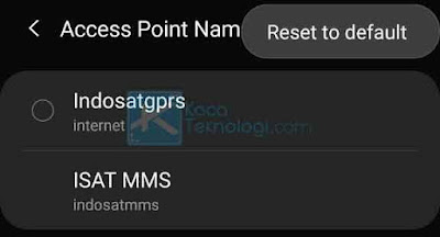 Tidak tepatnya pengaturan pada SIM Card di smartphone Anda juga menjadi salah satu penyebab error ini muncul.