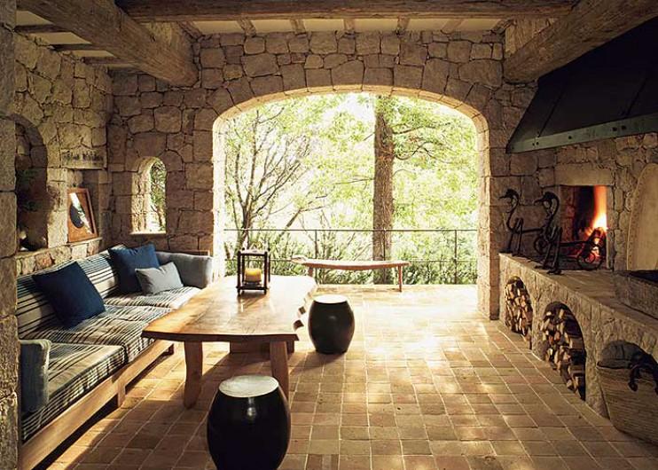 Estilo rustico casa rustica de piedra - Exteriores de casas rusticas ...