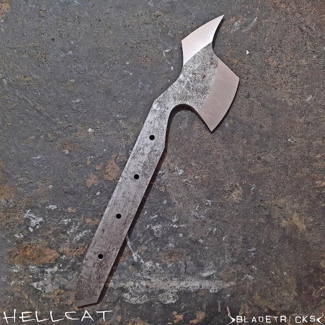 Knife maker tomahawk
