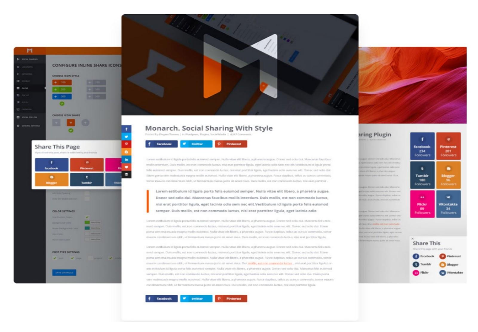 Monarch WordPress Plugin