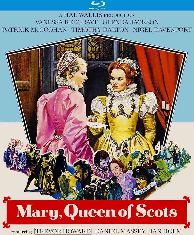 Mary Queen Of Scots Blu Ray Universal 1971 Kino Lorber