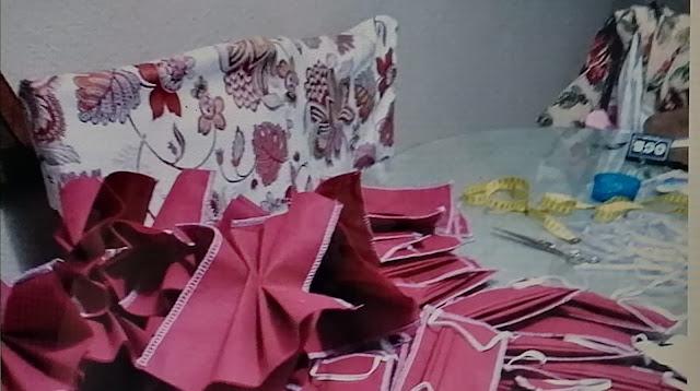 Una concejala de IU en Zufre (Huelva) impulsa la fabricación de mascarillas solidarias