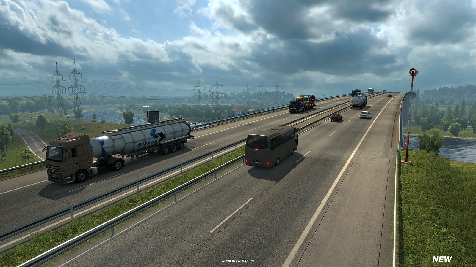 We Have One More Related Cool Picture For You On Euro Truck Simulator 2  Facebook Page, The Result Of A Little Teaser We Were Doing On The Page  Today.