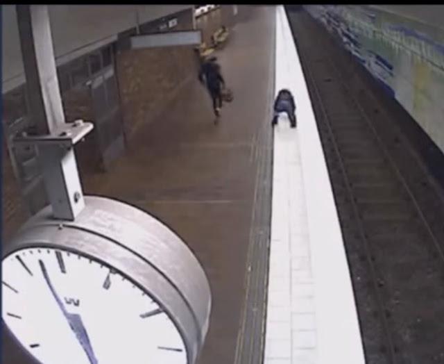 بالفيديو.. شاهد ماذا فعل مهاجران عربيان بفتاة حسناء في السويد
