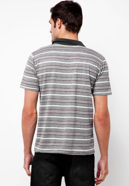 Camisa Polo FiveBlu Intense Cinza