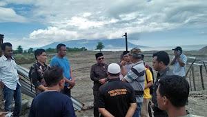 Monev di Lokasi Pasir Besi, Komisi III Minta PT. JMK Agar Peduli Terhadap Lingkungan Sekitar