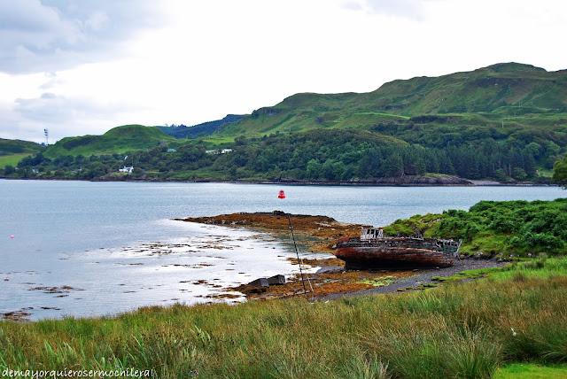 Little Horseshoe Bay, isla de Kerrera (Escocia)