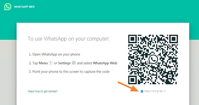 cara membuat whatsapp web, wa web, web whatsapp