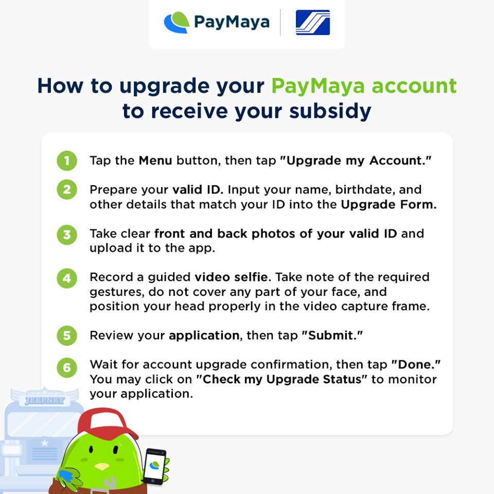 receive sss funds to paymaya