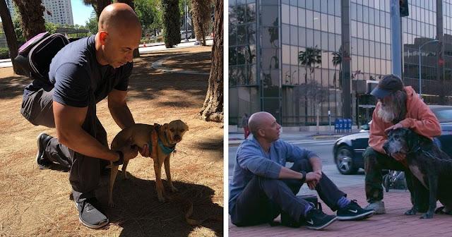 Ветеринар находит на улице бездомных, у которых есть питомцы. Он бесплатно помогает им