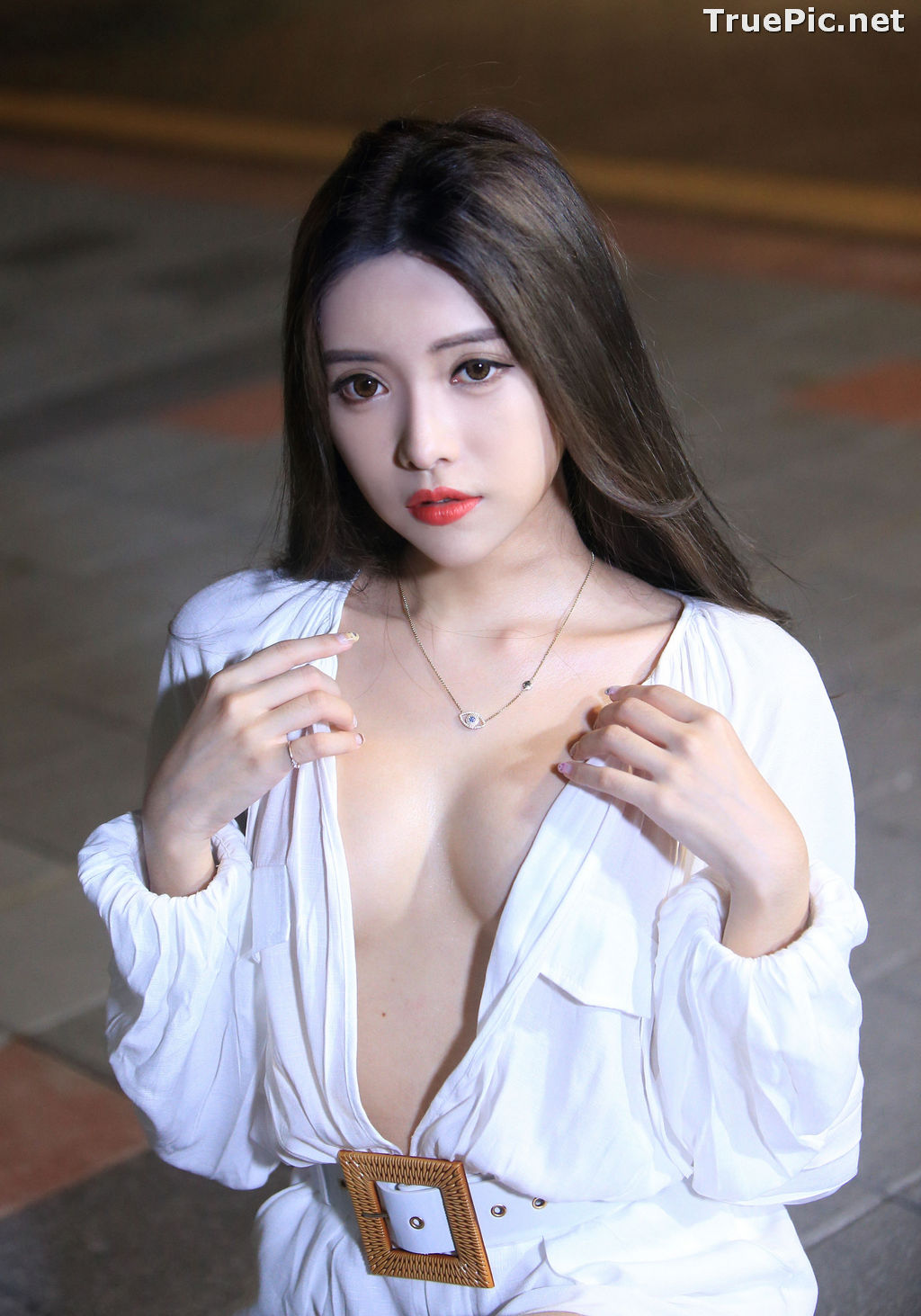 Image Taiwanese Model – 莊舒潔 (ViVi) – Sexy and Pure Baby In Night - TruePic.net - Picture-15