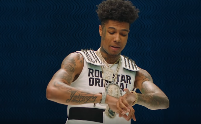 Blueface's Instagram Account Was Deleted After Broadcasting Strip Club Orgy