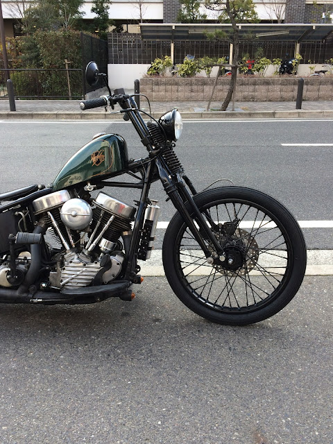 Harley Davidson Panhead By Shiun Craft Works Hell Kustom