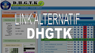Link Alternatif Login DHGTK tahun 2018