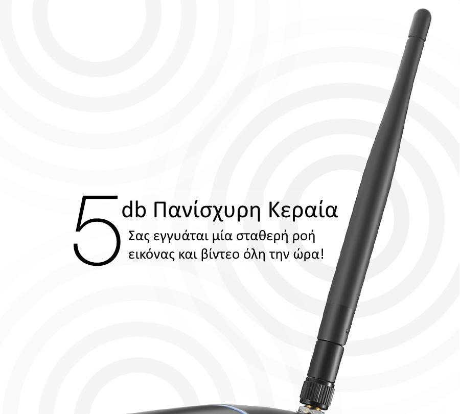 Blitzwolf BW-SIC1 Αδιάβροχη HD Κάμερα Εξωτερικού Χώρου (WiFi/IP67/HD/Outdoor)