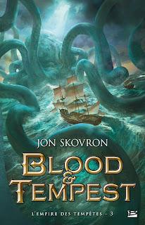 couverture du livre Blood & Tempest