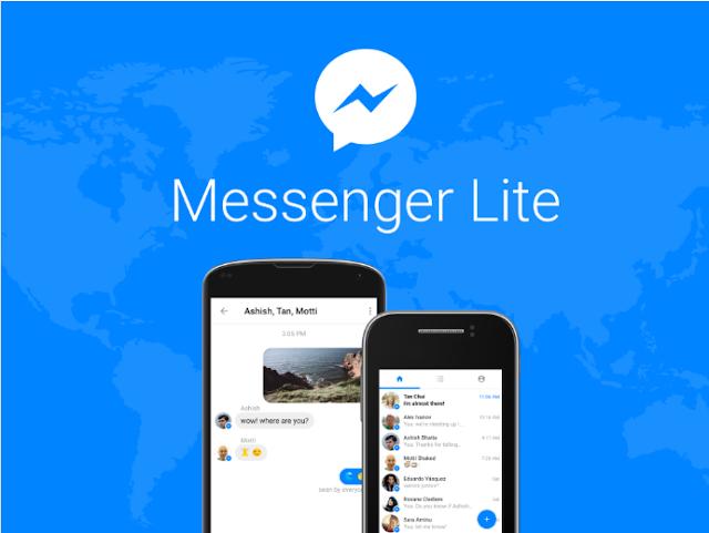 Terkendala Sinyal ? Facebook Memperkenalkan Messenger Lite
