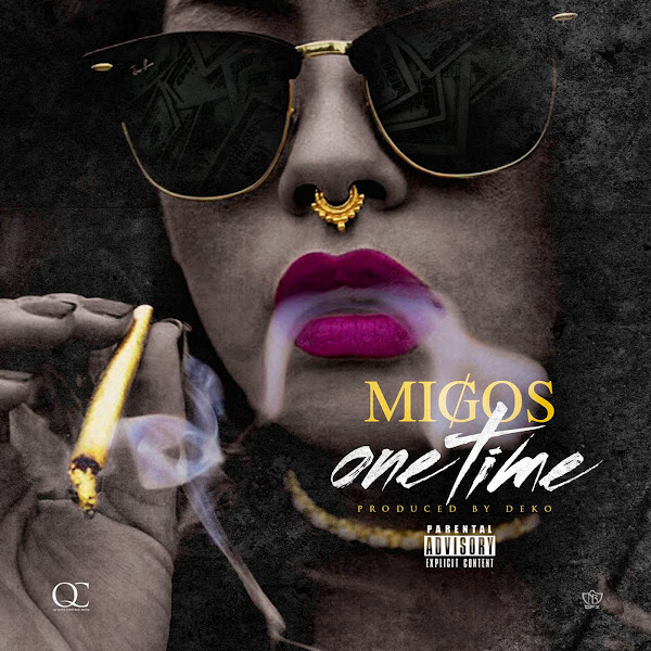 Migos - One Time - Single Cover