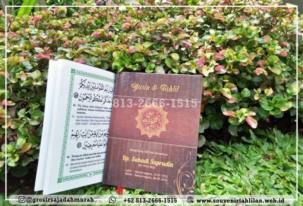TERMURAH!!! Percetakan Buku Yasin Eksklusif | +62 813-2666-1515