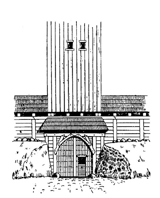 Grodzisko wczesnośredniowieczne Arkona, na wsypie Rugia